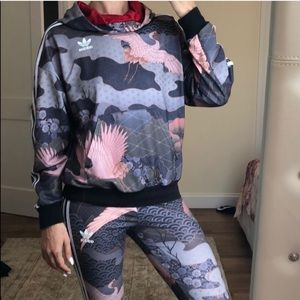 RARE collection Rita Ora Adidas suit size M